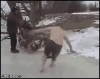 Enlace a Las playas de rusia son de hielo