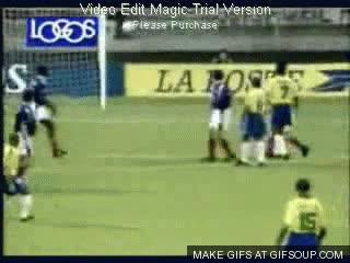 Enlace a Gol imposible de Roberto Carlos