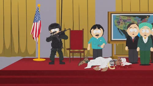 Enlace a South Park nos mostró el futuro