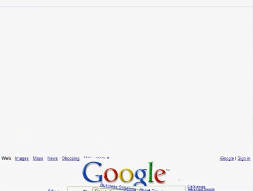 Enlace a Google se desmonta