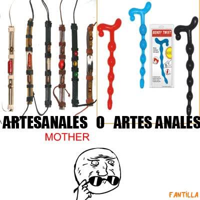 Enlace a Artesanales o artes anales