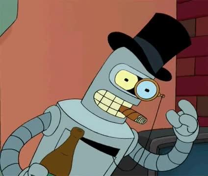 Enlace a Bender feels like a sir