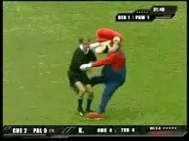 Enlace a Mario the hooligan