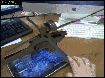 Enlace a Gafas en 3D y un Ipad