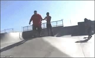 Enlace a Bonito truco de skate
