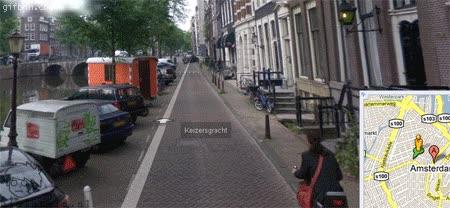 Enlace a Google Street view y sus curiosidades