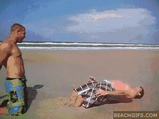 Enlace a Pelea en la playa