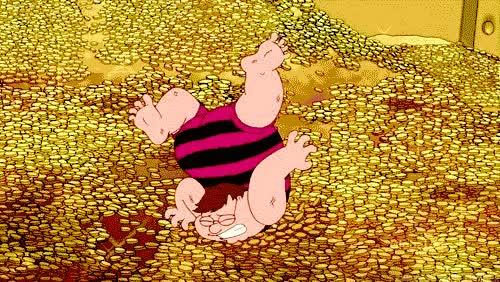 Enlace a Por eso no se puede nadar en dinero