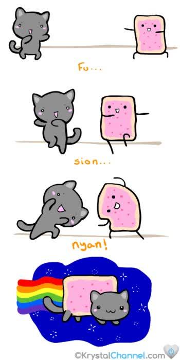 Enlace a El origen del nyan cat