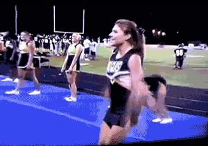Enlace a Con esta cheerleader nunca te aburrirás