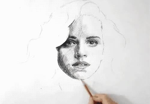 Enlace a Arte con lápiz