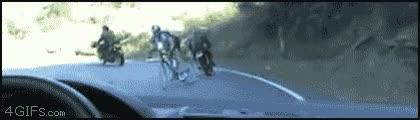 Enlace a Ciclista con suerte