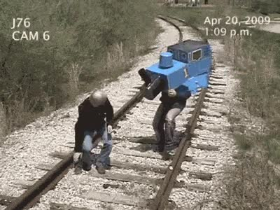 Enlace a Escalofriante: hombre atropellado por tren