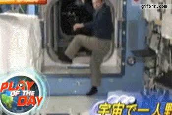 Enlace a Cuando estás desocupado en una estación espacial