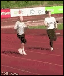 Enlace a Ese incómodo momento cuando se te olvida cómo correr.