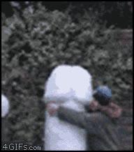 Enlace a Esto sí, que es correrse en la nieve