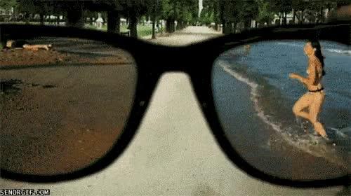 Enlace a Con estas gafas no me hace falta ir a la playa
