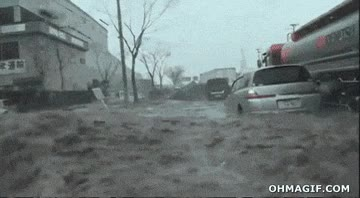 Enlace a La rapidez del tsunami japonés