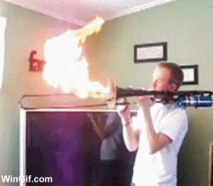 Enlace a Trombón saca-llamas