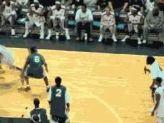 Enlace a Esto es vacilar jugando a baloncesto