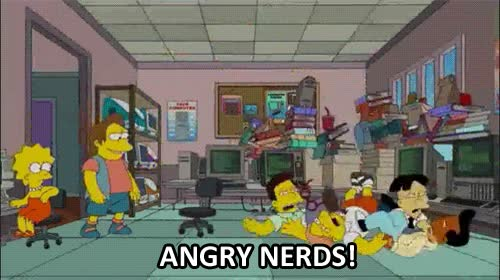 Enlace a Angry nerds