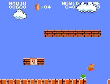 Enlace a Mientras mario busca su princesa, Luigi aprovecha