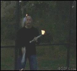 Enlace a Haciendo malabares con fuego ¡FAIL!