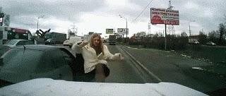Enlace a Se vuelve loca después del accidente