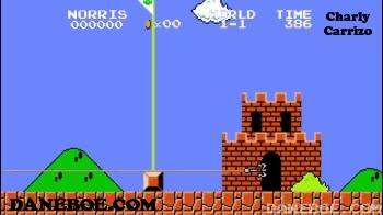 Enlace a Super Mario estilo Chuck Norris