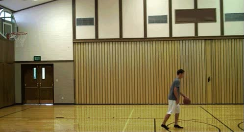 Enlace a Moonwalk feat baloncesto
