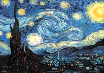 Enlace a Van Gogh 3D