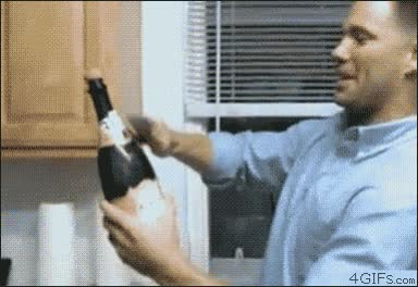 Enlace a Descorchar una botella like a boss... Oh wait!