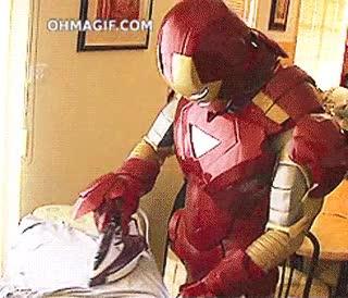 Enlace a Ironman también ayuda con las tareas del hogar