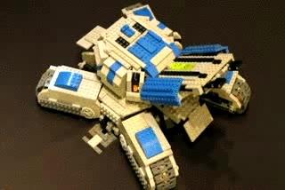 Enlace a Starcraft 2 con Lego