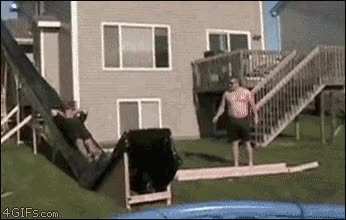 Enlace a Tío, la piscina estaba más atrás