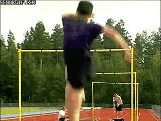 Enlace a Se tiene que estar realmente en forma para saltar así