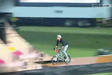 Enlace a ¡Qué buen salto en bici!