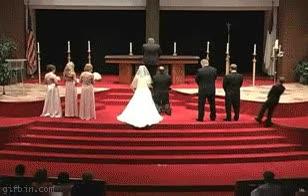 Enlace a Fail en una boda