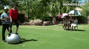 Enlace a Jugando al golf