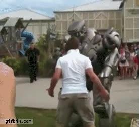Enlace a Hombre vs Robot