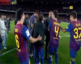Enlace a Manteo del Barça a Pep. ¡Gracias Pep!