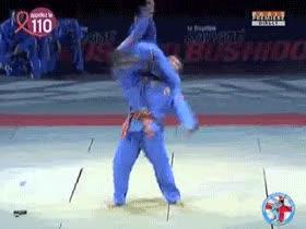 Enlace a Tremenda llave de judo