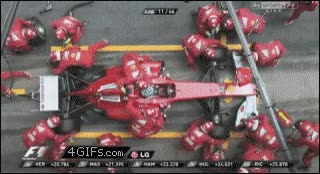 Enlace a Cambio de rueda en F1