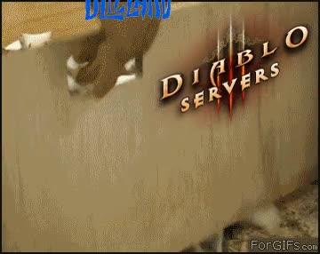 Enlace a Los servidores del diablo III al abrirse