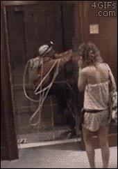 Enlace a Sorpresa en el ascensor