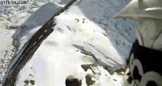 Enlace a Esquiando en moto