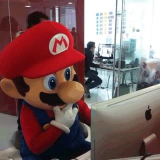 Enlace a Un duro día de trabajo en Nintendo