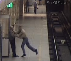 Enlace a ¿Qué es esta locura en el metro?