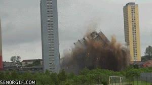 Enlace a Derrumbe de un edificio