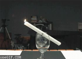 Enlace a Truco con una vela
